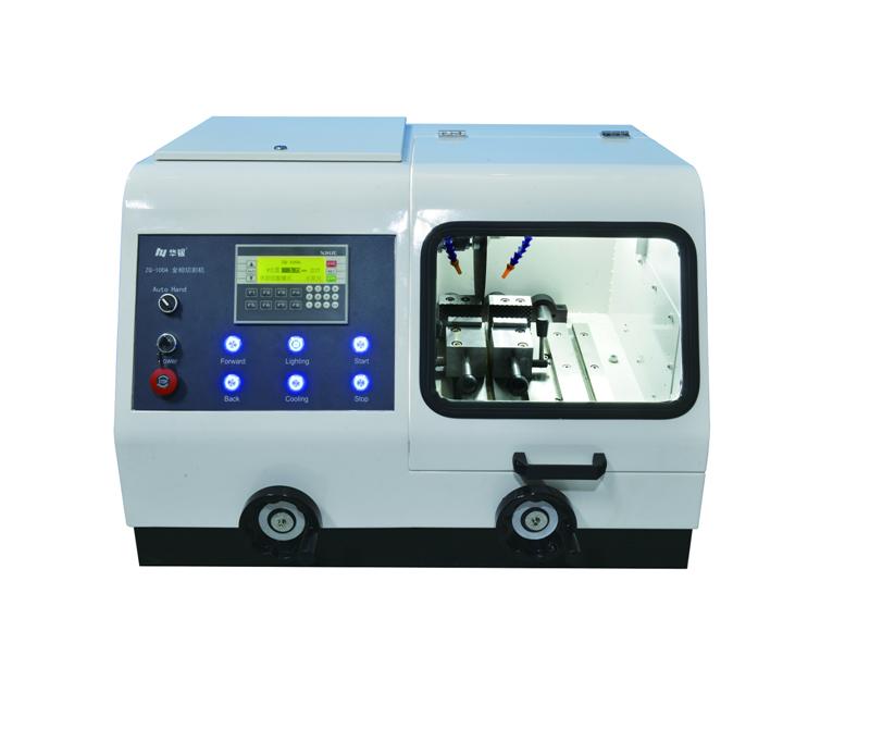 MODEL ZQ-100A MANUAL/AUTOMATIC METALLOGRAPHIC SPECIMEN CUTTING MACHINE